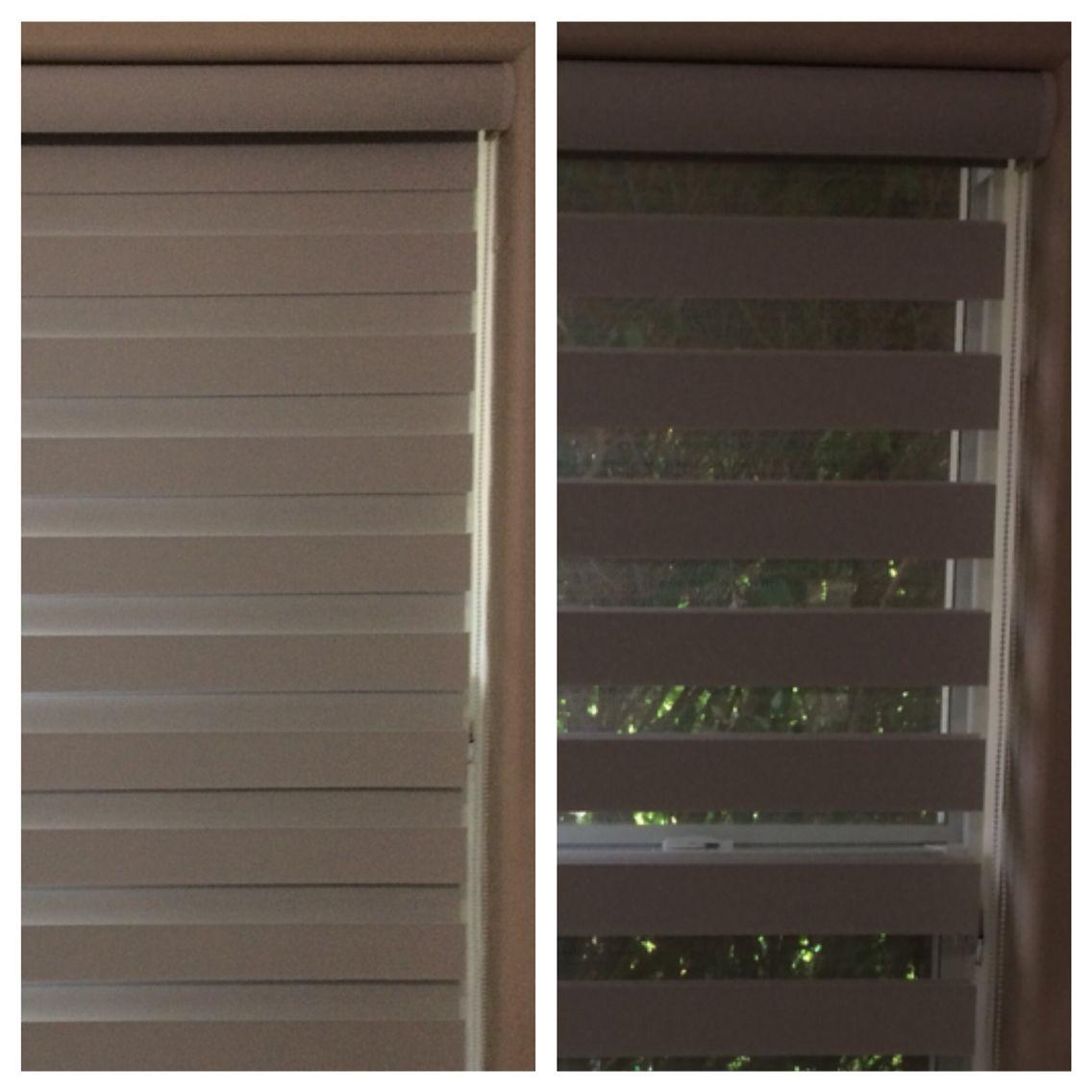 Zebra blackout shades open u closed window treatments pinterest