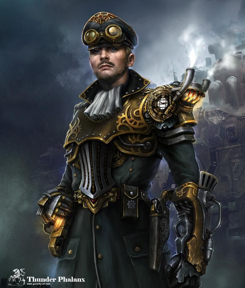 Steampunk Tendencies | Michael knight by ganedly http://www.steampunktendencies.com/post/81795480261/