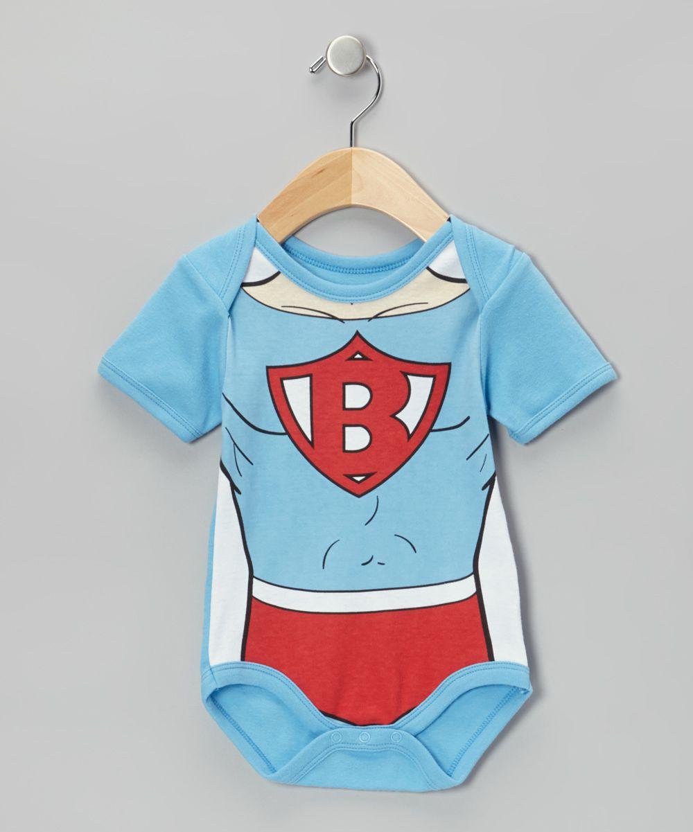 7401a3b134cc Light Blue Super Baby Bodysuit - Infant