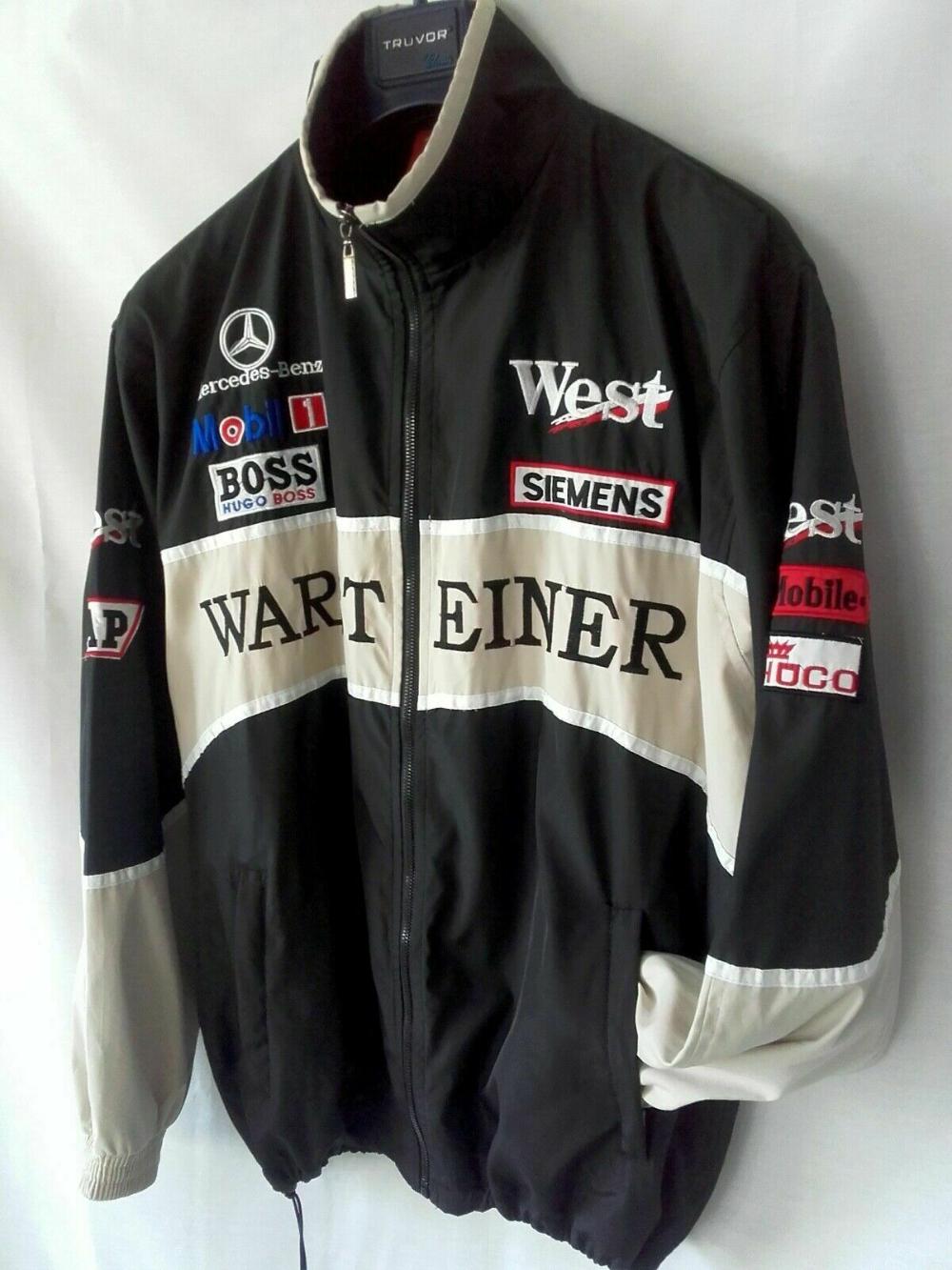 F 1 Mercedes Benz Bomber Jacket Very Rare Formula 1 Size Xl Xxl Ebay Jackets Bomber Jacket Benz [ 1333 x 1000 Pixel ]