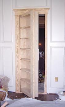 to Make a Secret Door to a Room or Closet Andrews man cave room to the closet! Closet could deb make shift