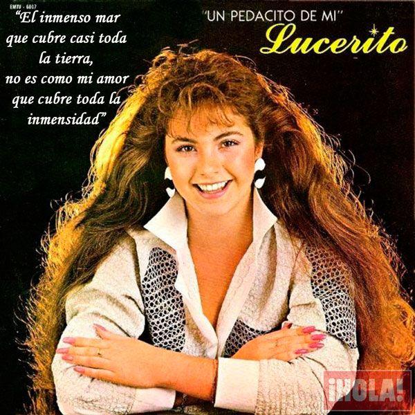 #TBT Así se veía @LuceroMexico en 1986 en la portada de su ...