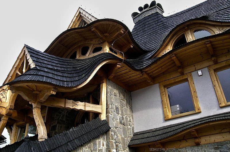 Sebastian Piton Eyebrow Dormers Unusual Buildings Wooden Cottage Roof Framing