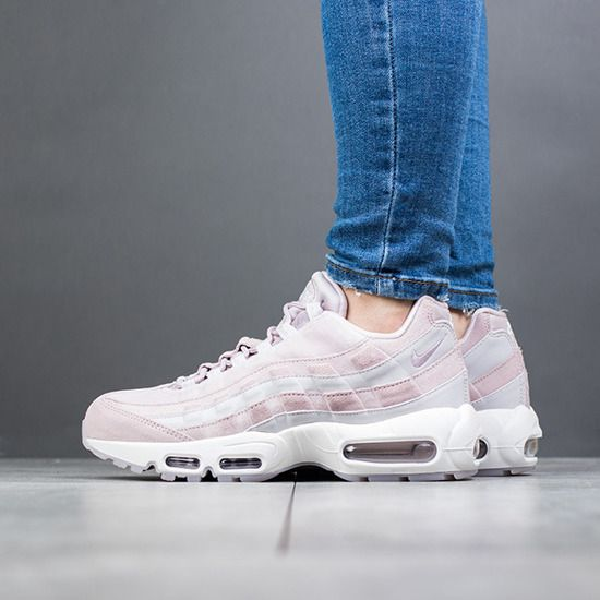 NIKE WMNS AIR MAX 95 LUX PARTICLE ROSE PINK RUNNING AA1103 600 ... 65706f910