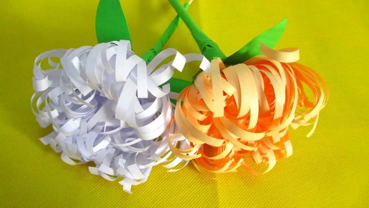 How To Make Easy Paper Flower From Crepe Paper Diy Projects53