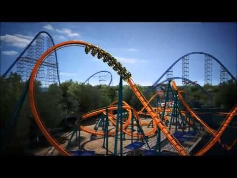 NEW FOR 2015: Rougarou Floorless Roller Coaster at Cedar Point - http://rollercoasterhq.risingflowmedia.net/new-for-2015-rougarou-floorless-roller-coaster-at-cedar-point/