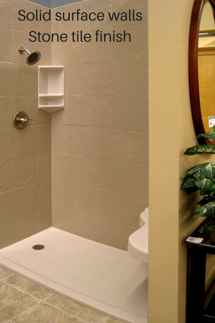 Solid Surface Shower Wall Panels Are Easy To Install And Available In Diy Kits For Ease