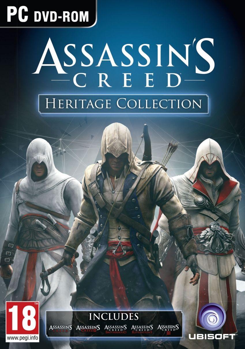 Assassin's Creed Heritage Collection a novembre su PC