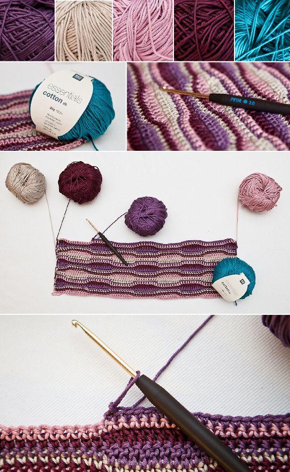 sweetheartcrochet: Häkelnadeltasche / crochet hook case   crochet ...