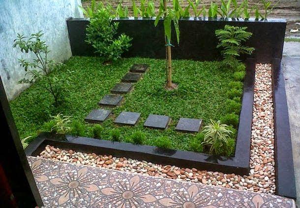 Sederhana Desain Taman Minimalis Depan Rumah