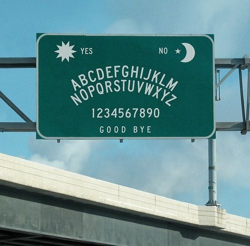 Ouija sign