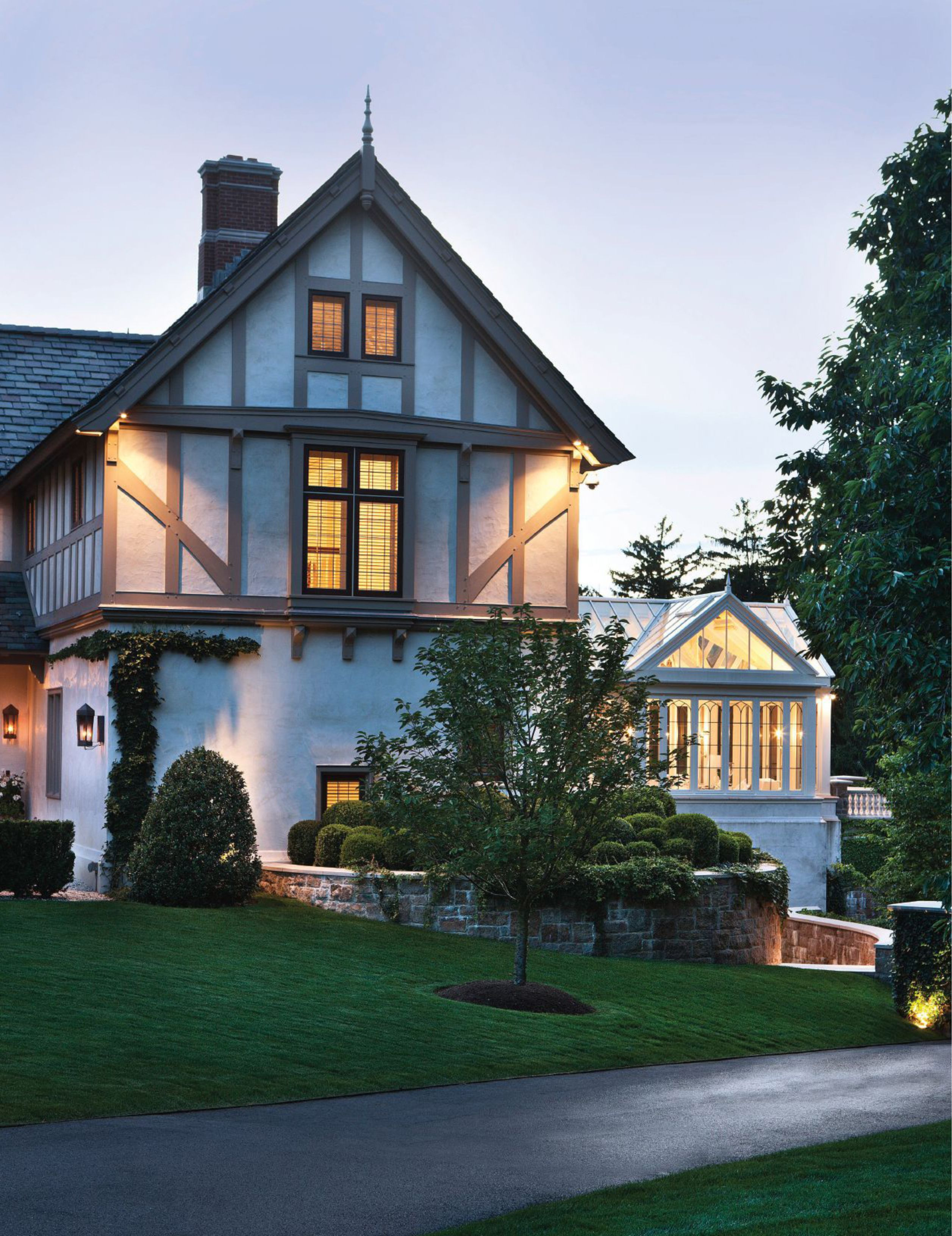 The Elizabethan Manor House as noted in East Coast Home + Design ...
