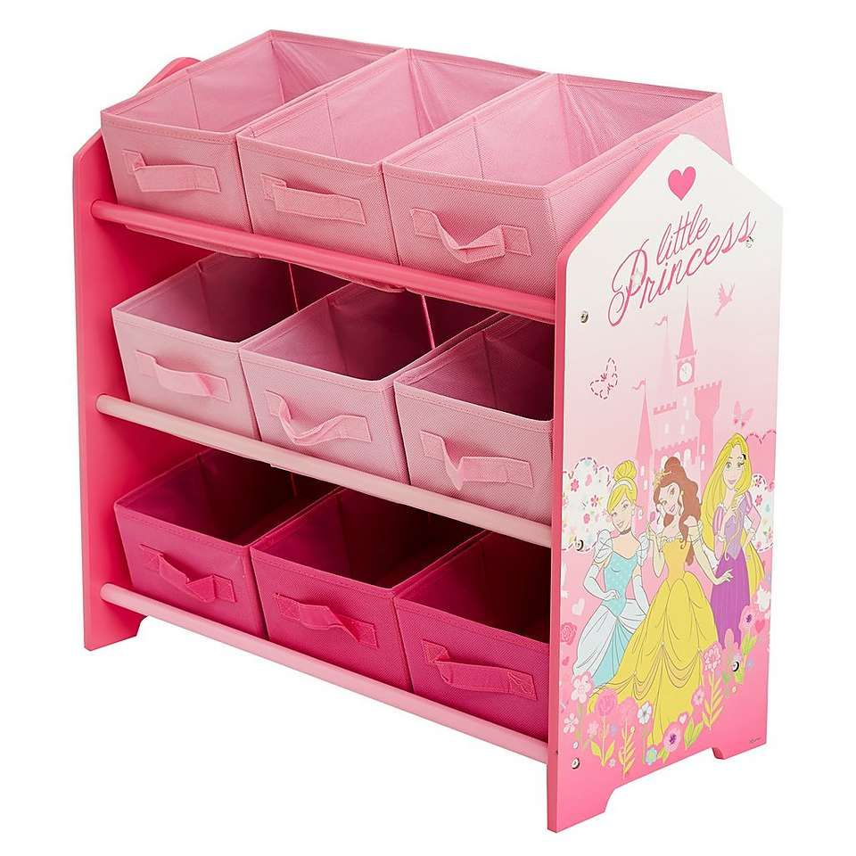 Disney Princess Storage Tidy | Dunelm