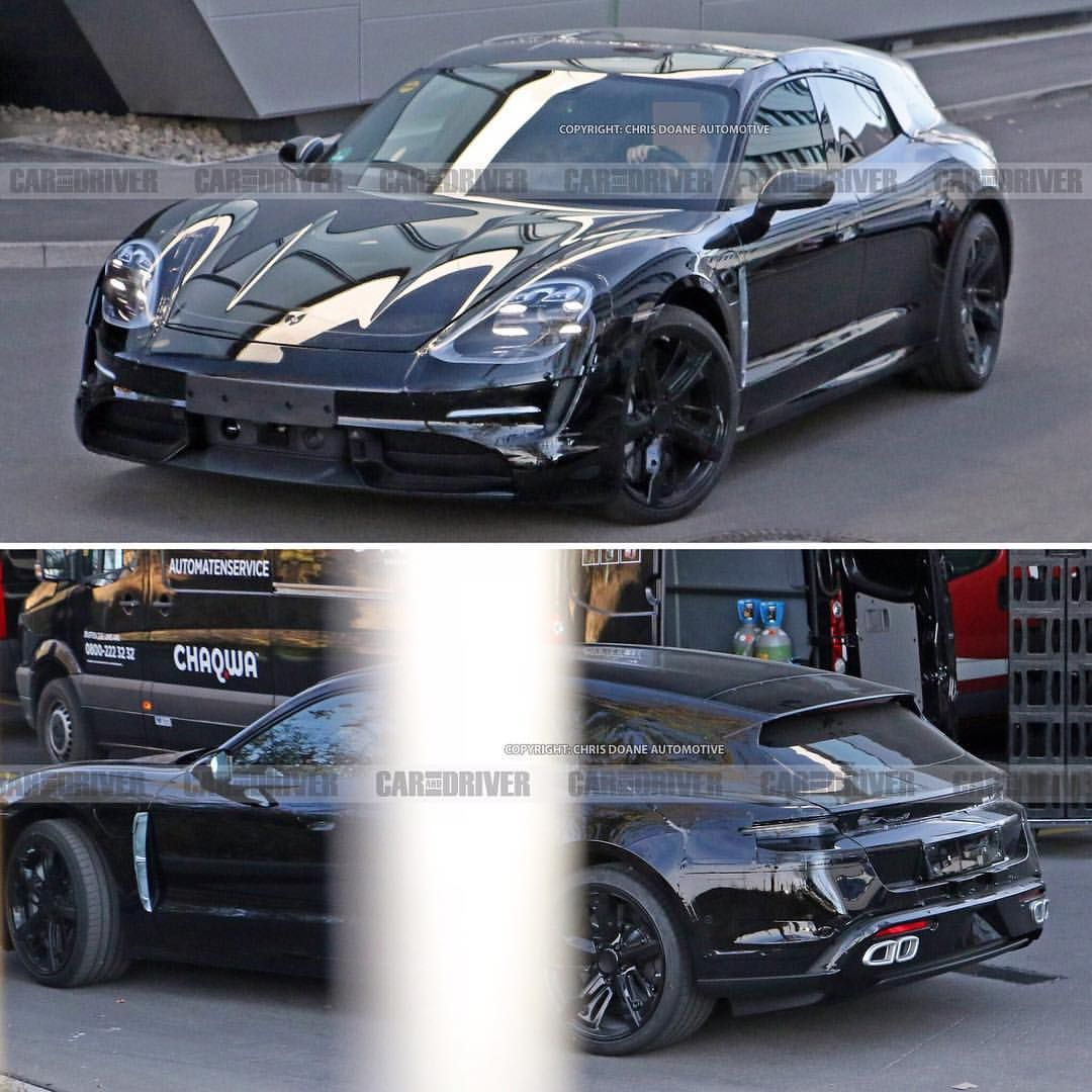 2020 Porsche Taycan Sports Turismo • Car And Driver On