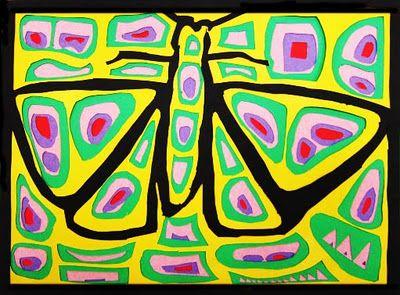 Upper School Art (Grades 7-12): Molas (Grade 7)-a paper cutting project