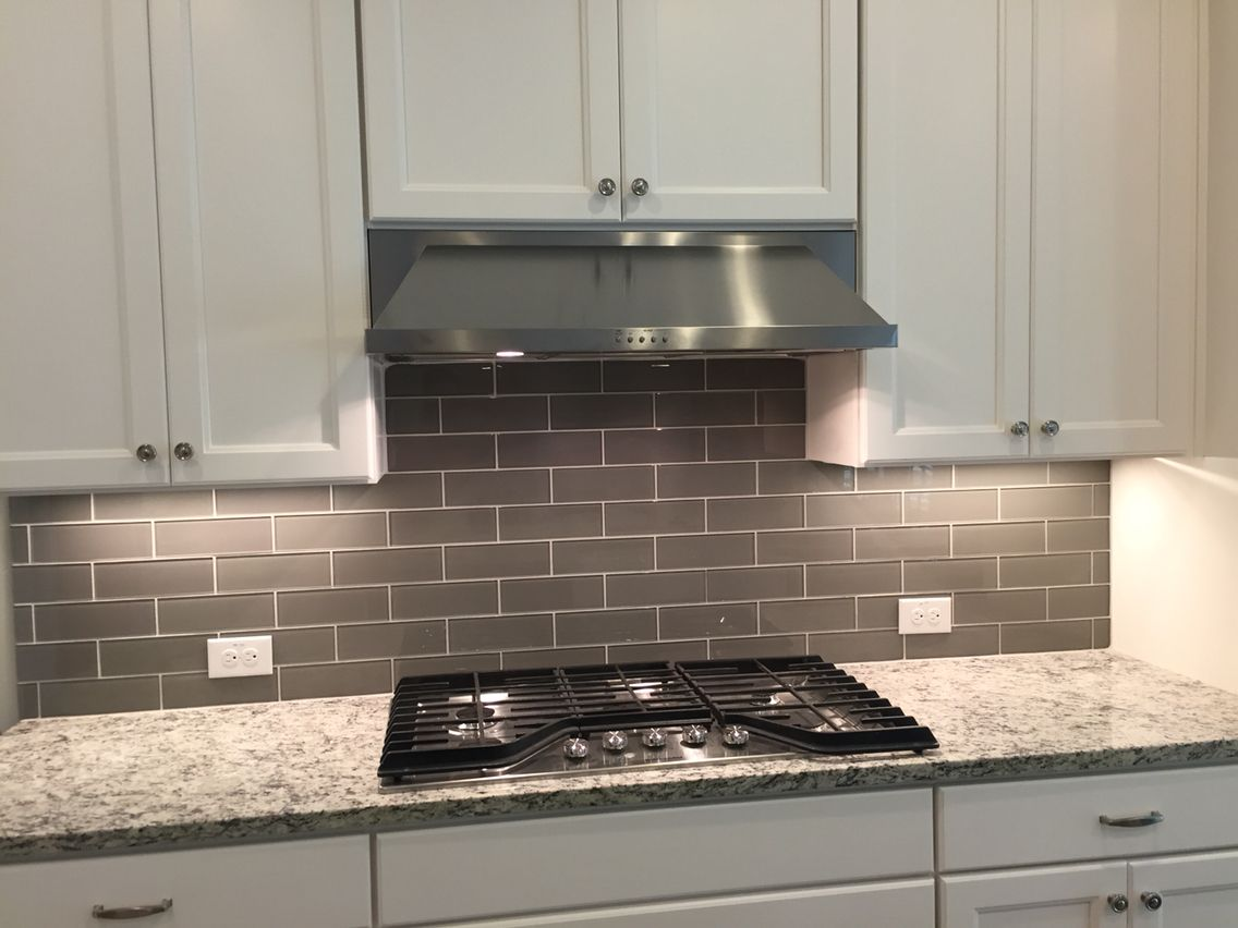 - 3x8 Glass Kitchen Backsplash, Kitchen, Kitchen Cabinets