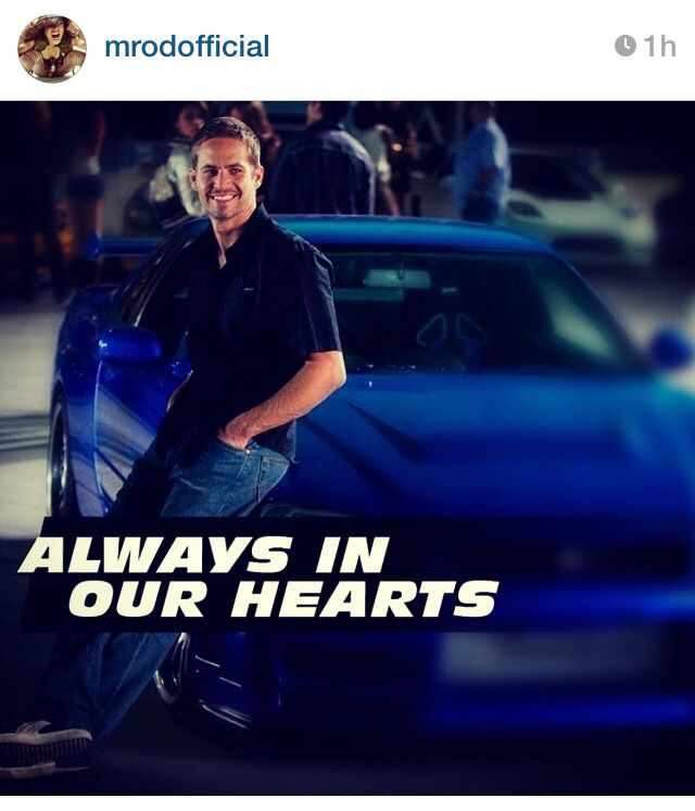 Always In Our Hearts Paul Walker