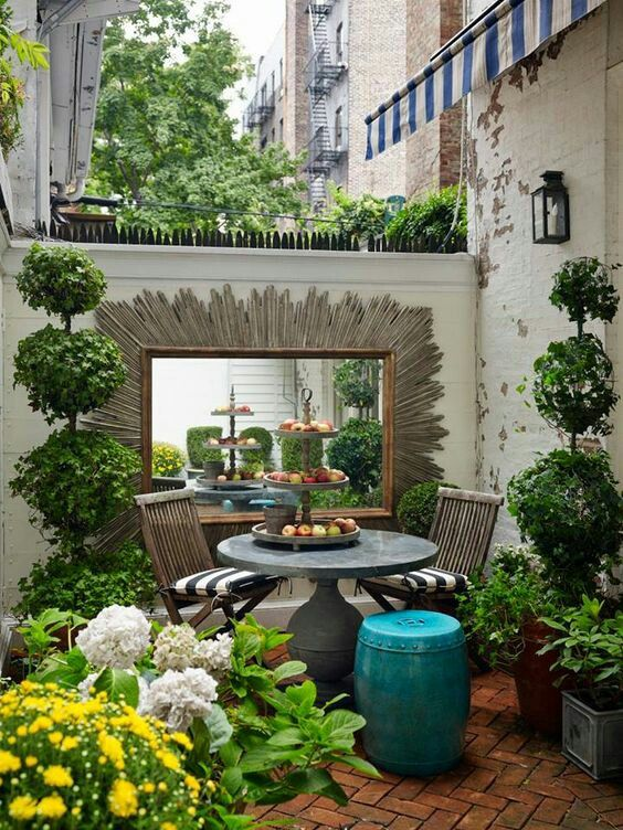 Pin By Carol Bryce On Back Porch Backyard Landscaping Garden