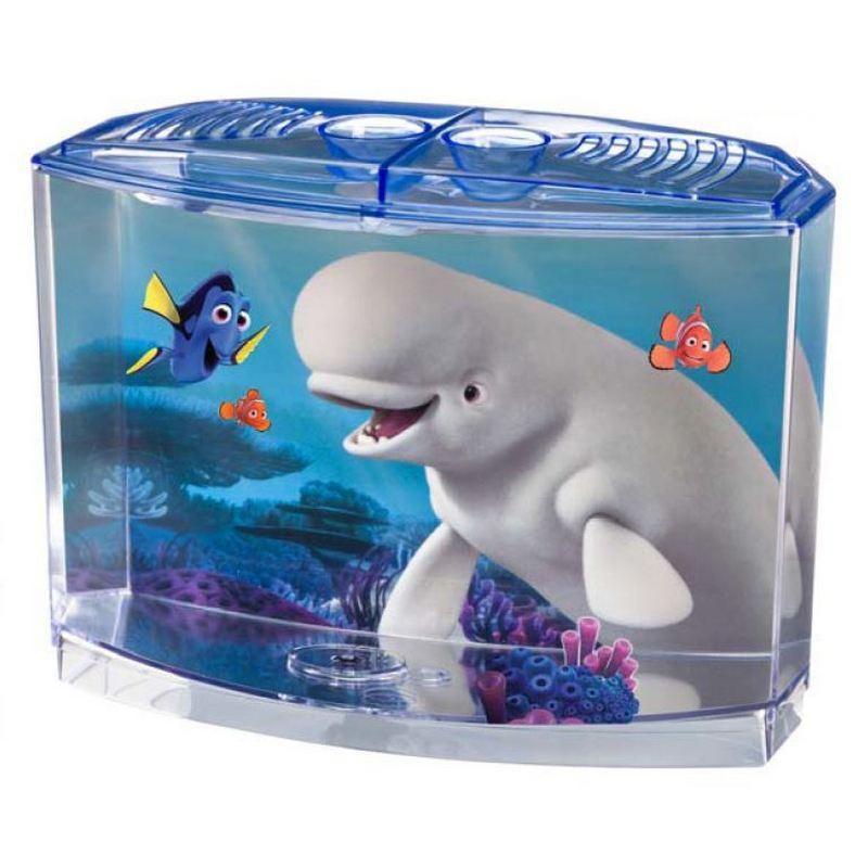 Este divertido y decorativo acuario de agua fr a est for Cuidados acuario agua fria