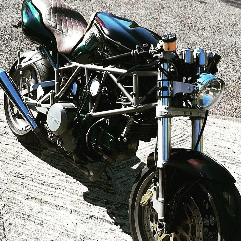 Ducati 750 Ssie Cafe Racer