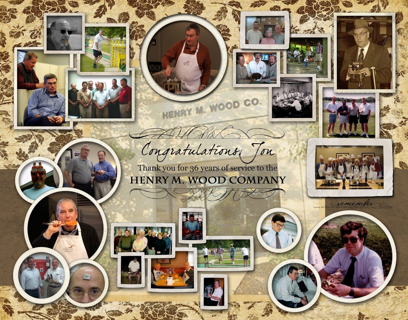 Funeral Collage Ideas New Use For Our Photo Collage