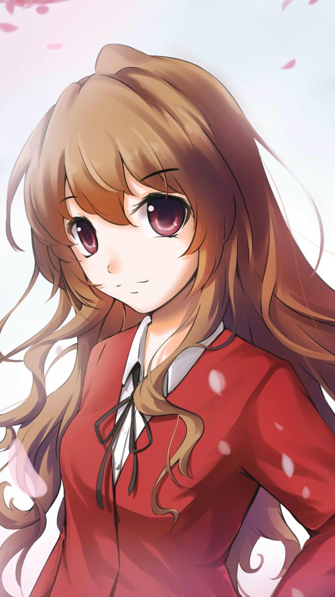 Toradora Taiga Aisaka Girl Anime Art Iphone 6 Wallpaper Anime Toradora Anime Art