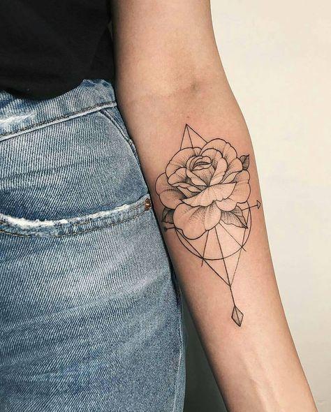 Photo of Rose Arm Tattoo Idee – Chelsea Pecoraro – Tägliches Pin Blog