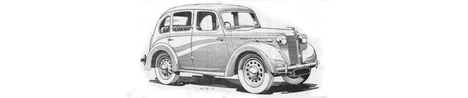 The Austin Eight H.P.  Introduced in 1939