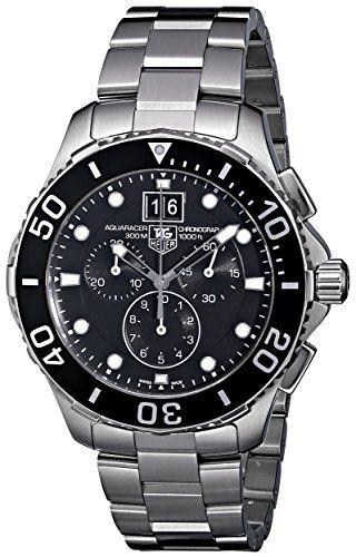 TAG Heuer Men's CAN1010BA0821 Aquaracer Chronograph Watch ...
