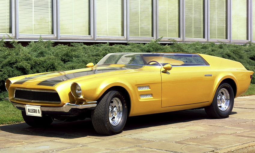1967 Ford Mustang Allegro Ii Concept Concept Cars Mustang Ford Mustang