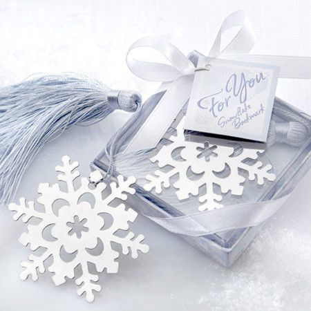 $8 Snow Shape Bookmark marque page