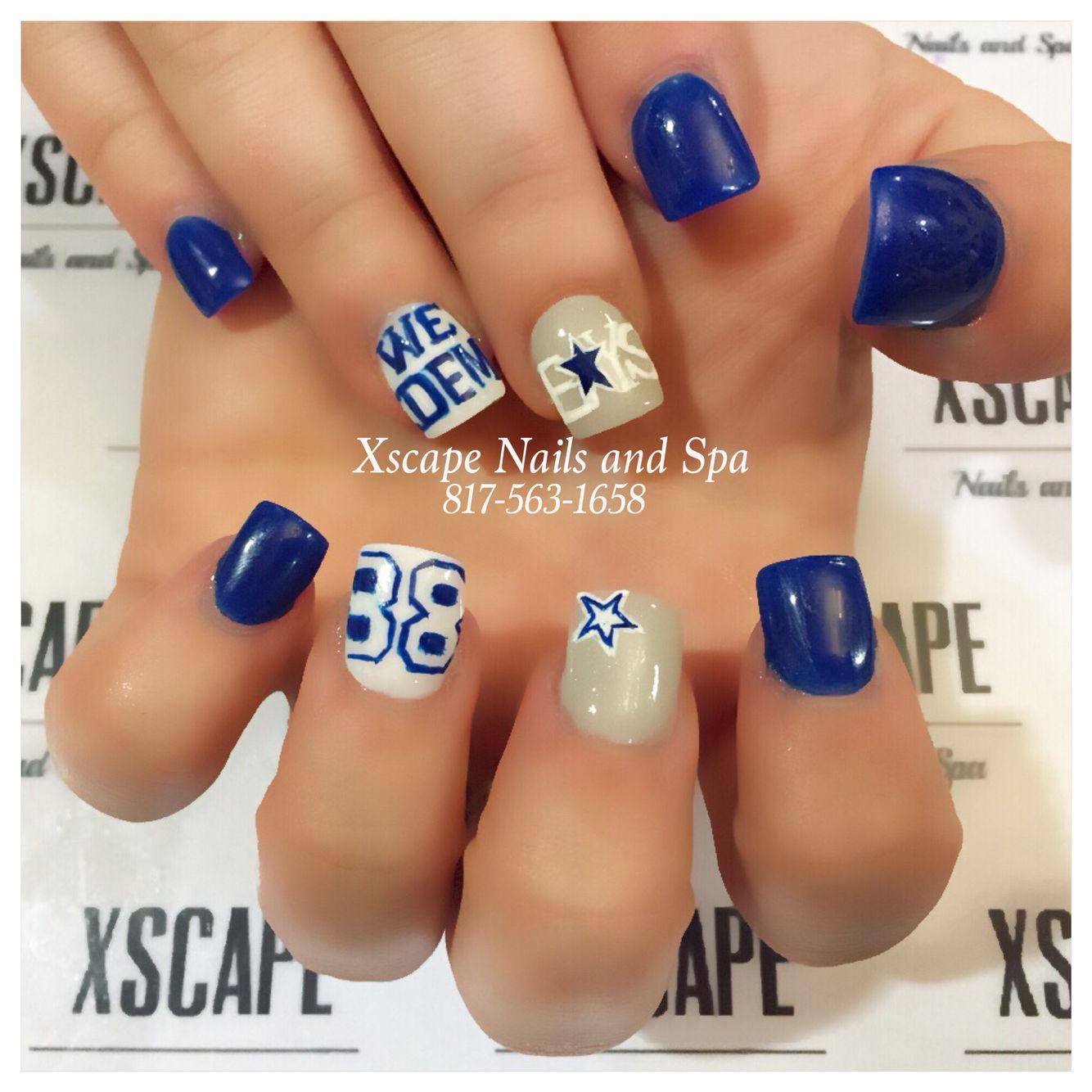 Dallas Cowboys nails | Cute Nails Designs | Pinterest | Dallas ...