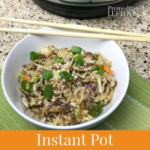 instant pot eggroll in a bowl low carb #eggrollinabowl instant pot eggroll in a bowl low carb #eggrollinabowl