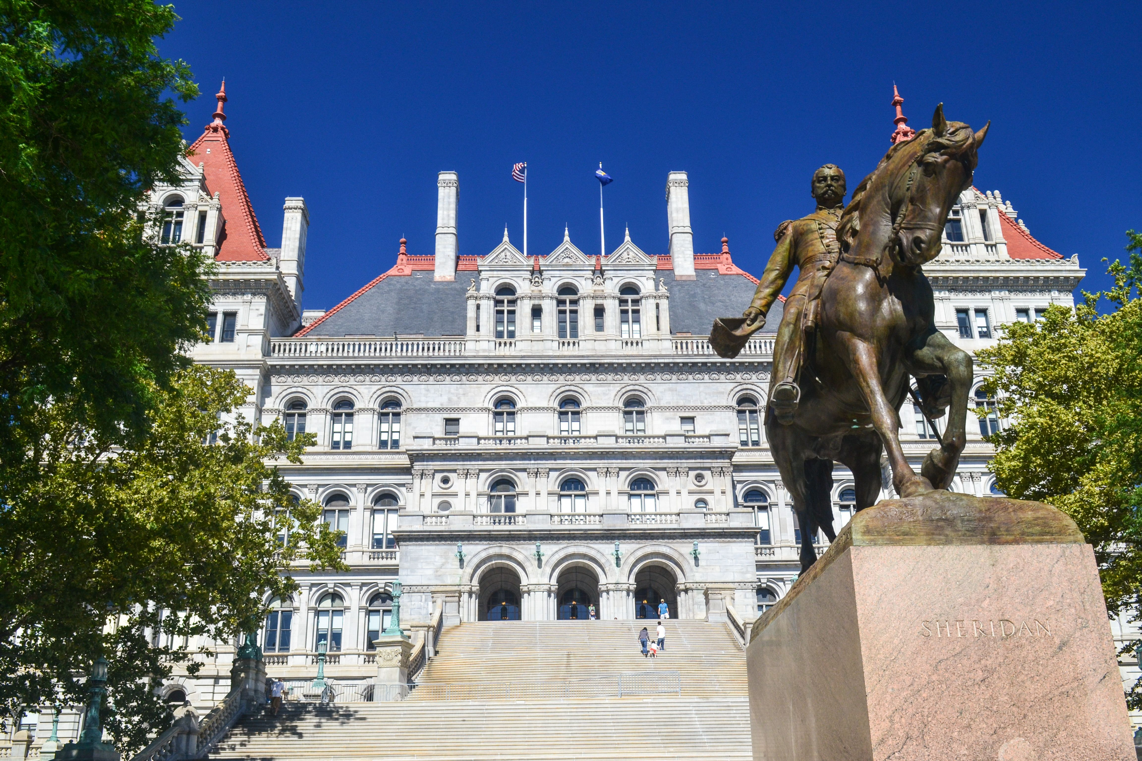 New York State Capitol Albany new york, Albany county