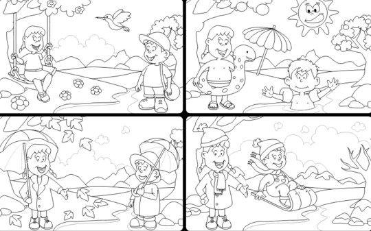 Resultado de imagen para imagenes de las estaciones del año en ...