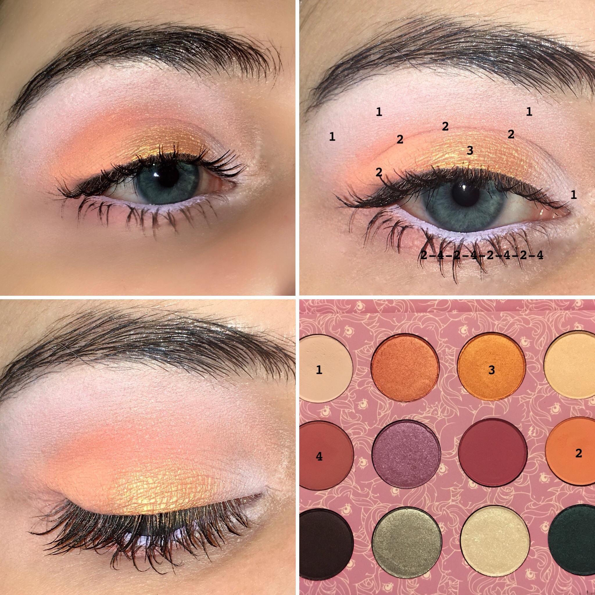 Colourpop My Little Pony palette look (CCW) Pony makeup