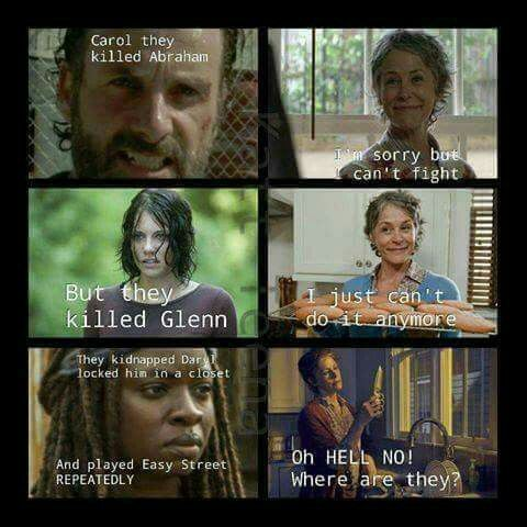 Pin by Sammi O\'Leary on Zombies and TWD memes | Walking dead ...