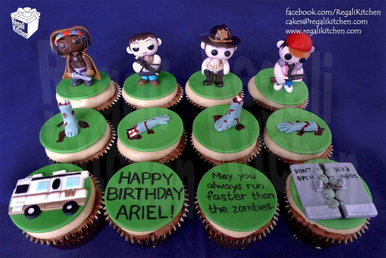 The Walking Dead Cupcakesmichonnedaryl Dixon And Crossbowrick