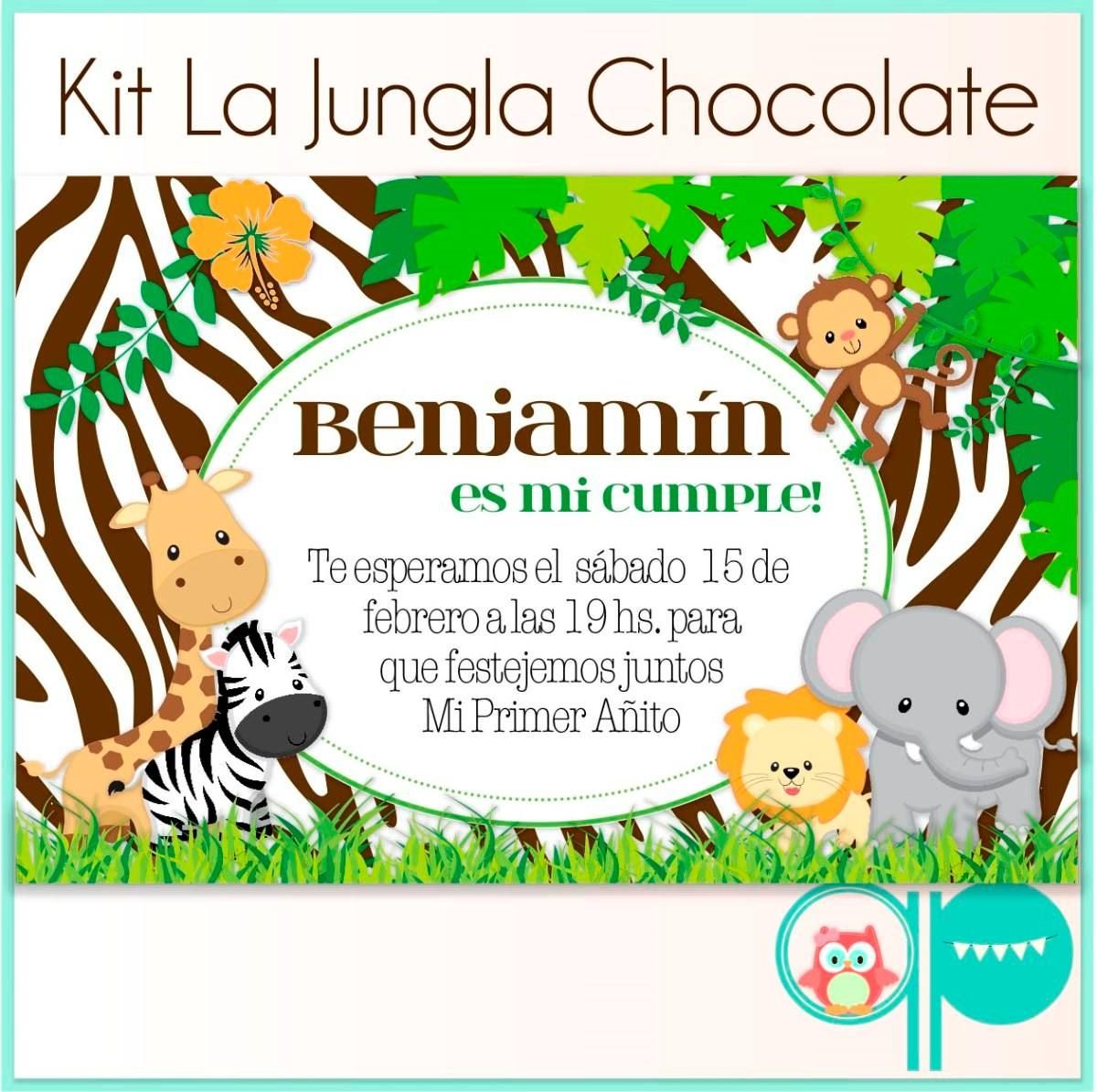 Invitación De Animalitos Imagui Baby Showers De Safari