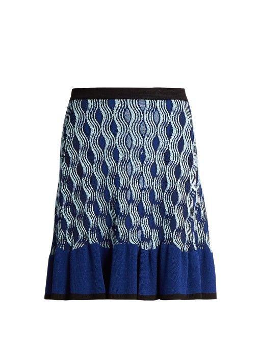 MARY KATRANTZOU. Knitted SkirtMary KatrantzouLuxury DesignerMini ...