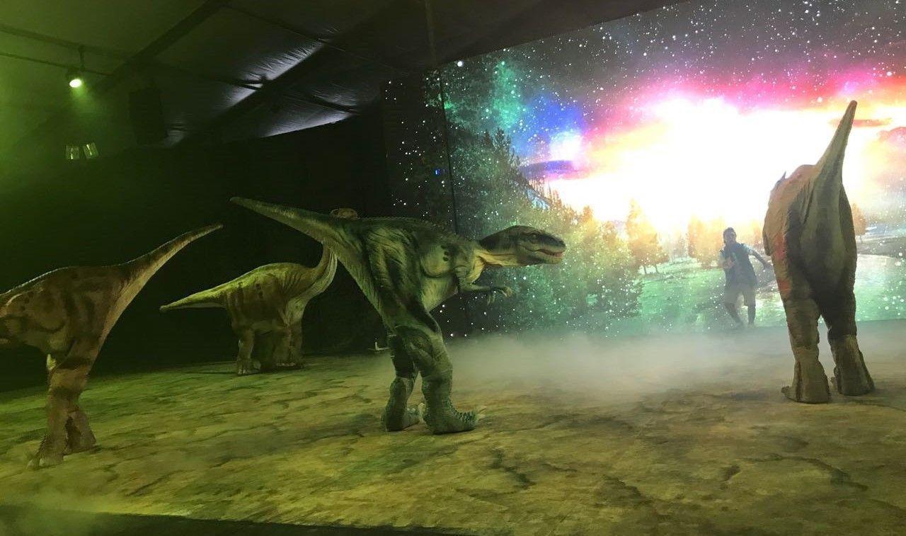 8d88f85460 Os dinossauros gigantes estão de volta! Dinos Experience em nova temporada  no Mooca Plaza Shopping