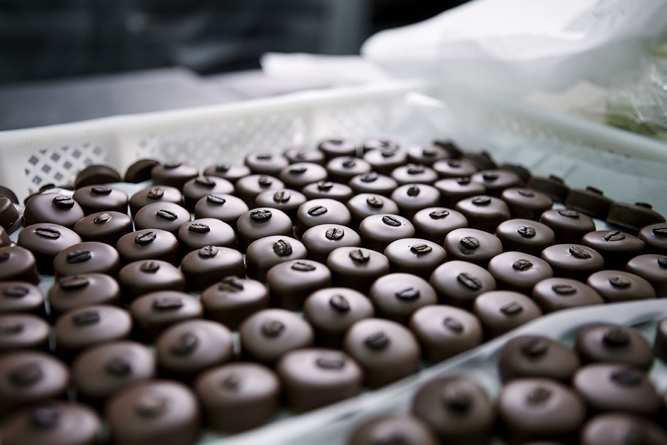 The perfect #Blend of selecting the right #Ingredients with the #Art of a consolidated production process and an innate #Italian #Creativity. #Amedei #Tuscany #Chocolate