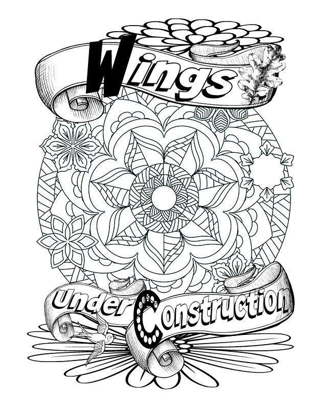 Amazon Words From Gods Garden Adult Coloring Book Religious