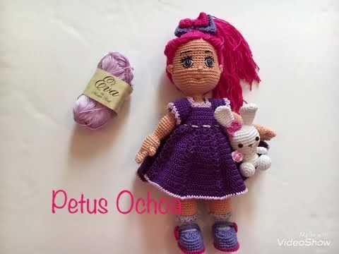 Que material ocupo para mí muñeca Greta amigurumis By Petus ...
