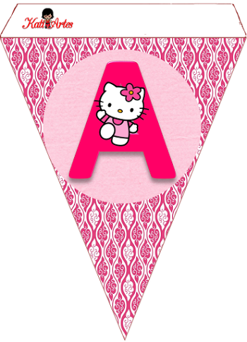 6a4a965ef243 Hello Kitty Free Printable Bunting. and like OMG! get some yourself some  pawtastic adorable cat apparel!