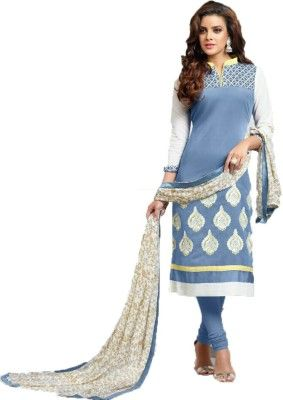 6f7b19b94d jay bhavani fashion Cotton Embroidered Dress/Top Material Price in India -  Buy jay bhavani