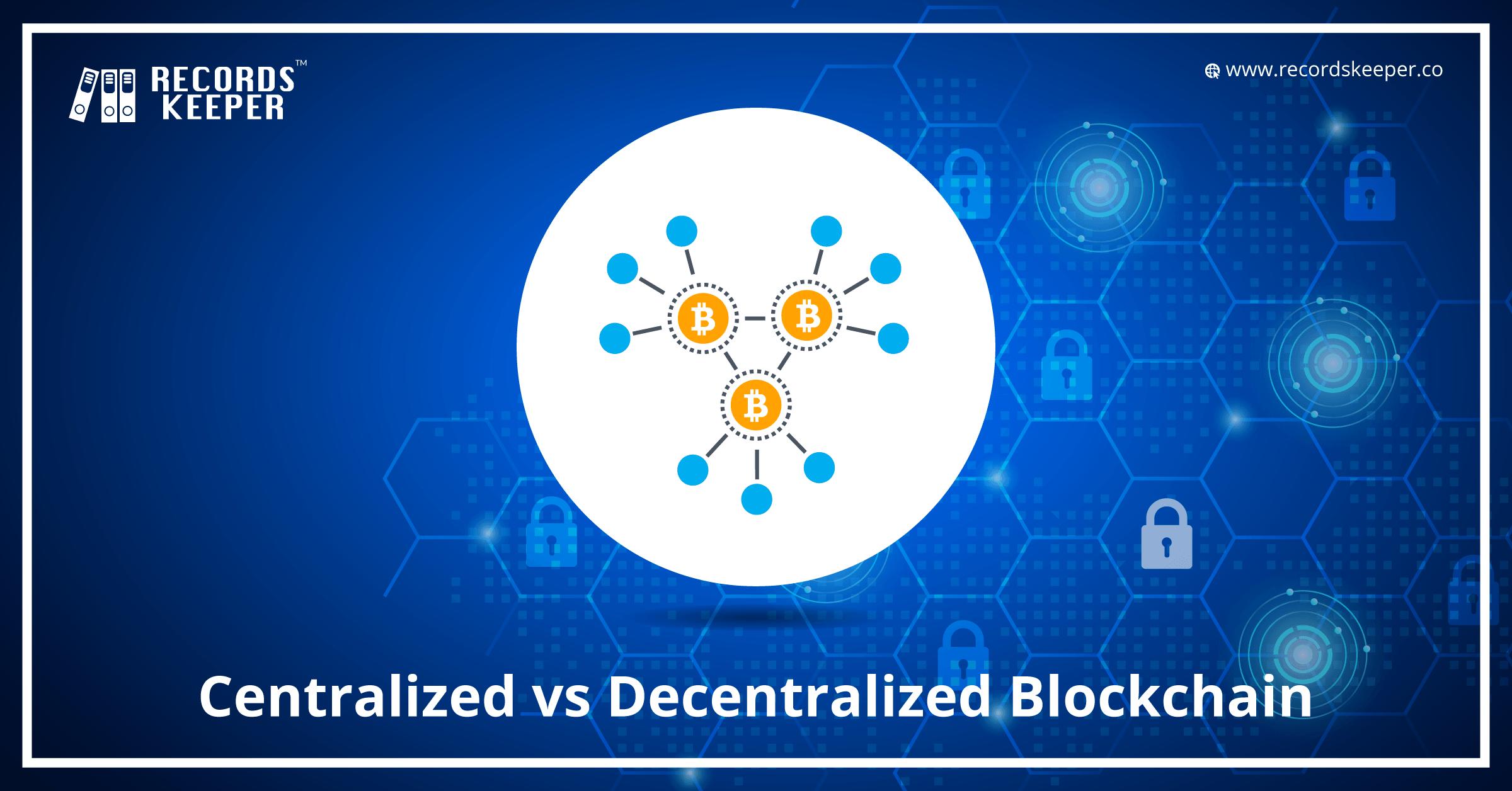 Centralized Vs Decentralized Blockchain Blockchain What Is Blockchain Blockchain Technology Decentral Blockchain Blockchain Wallet Blockchain Technology