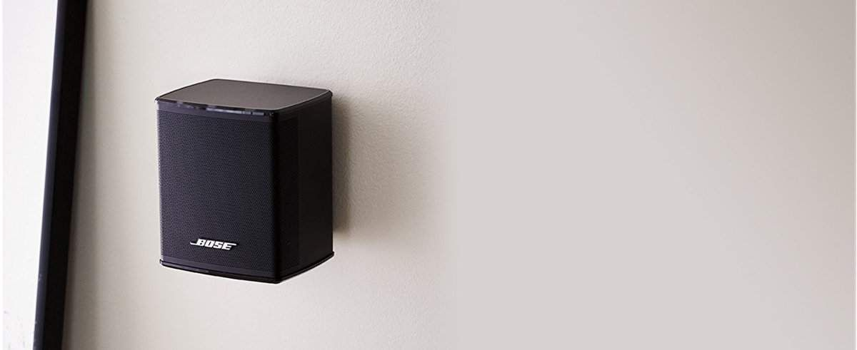 Bose Virtually Invisible 300 Wireless Rear Surround Speakers Review Surround Speakers Speaker Bose