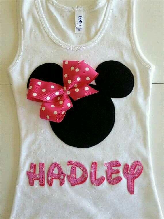 d6a6497c1 Blusas   Minnie Fest   Ropa casual para niños, Camisas familiares y Ropa