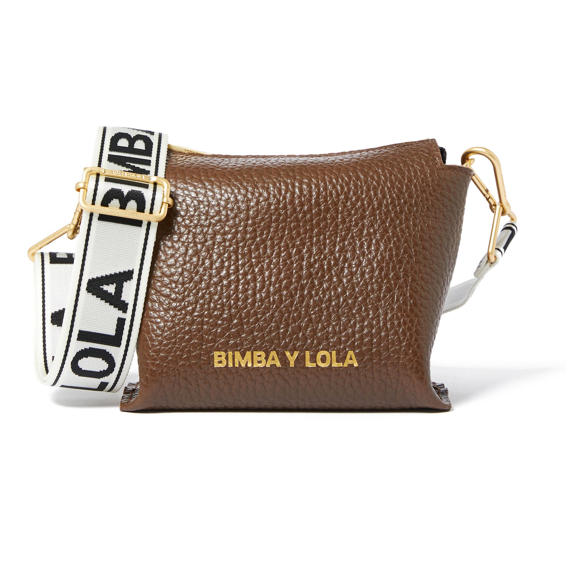 Sac Bandoulière Cuir Chocolat Bimba Y Lola Outfit Accessories Bags Accessories